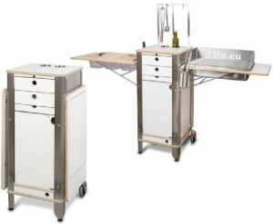 flix Live – moving kitchen: High-end cuisine/barbecue pliable pour in- & outdoor