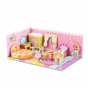 Happy event Puzzle 3D en carton pour enfant, multicolore