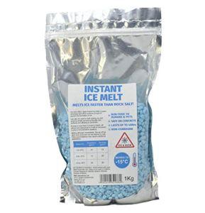 Instant Ice Melt Sac de 1kg–Chemin de fondre la neige et la glace/dégivreur