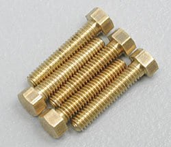 1-72 3/8″ Hex Head Machine Screw (5) by Woodland Scenics