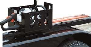 Acheteurs Lt15Multirack Paysage Camion et remorque Rack pour scies à chaîne, Taille-haie ou à main levée Blowers