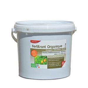 Agro Sens Engrais Biologique Agrumes Orangers, Citronniers et Oliviers – 4 kg AG-AGRU4