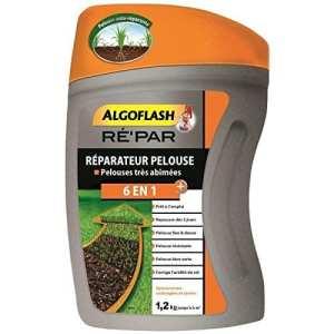ALGOFLASH Réparateur pelouse 6 en 1, 1, 2 kg, REPAR7