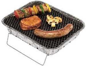Barbecue jetable zündfertig lot de 5