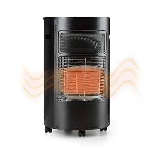 Blumfeldt Bonaparte • Réchaud à gaz • Niveaux de puissance 1600, 2600 et 4200W • Bouteille de gaz: 5 à 15kg • Allumeur piézo • Brûleur infrarouge en céramique • Noir