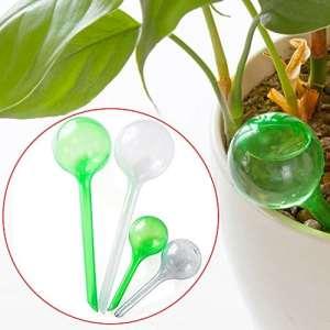 Emvanv Dispositif d'arrosage automatique Vacation Pot d'arrosage automatique ampoule Globe pour jardin Plante d'intérieur Taille S green