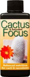 Engrais concentré liquide Cactus and Succulent Focus 100ml