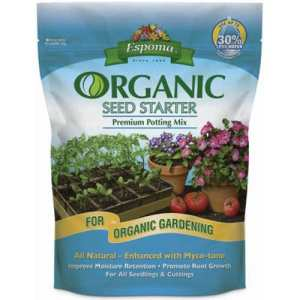 ESPOMA COMPANY – Seed Starting Potting Mix, Organic, 16-Qts.