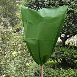fasloyu Chaud Coque Arbre Arbuste Plante Sacoche de Protection Protection Contre Le Gel Cour Jardin d'hiver d'être endommagé, intempéries nuisibles, Lot de 1/3 1PC a
