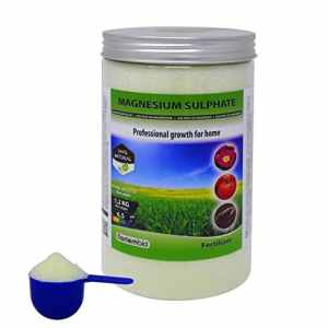 Nortembio Sulfate de Magnésium 1,2 kg, Engrais universel, Fertilisant Naturel pour Culture, Pour les Plantes d'intérieur et de Jardin.