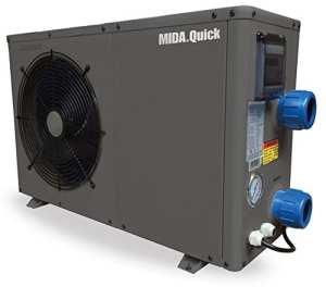 Pompe à chaleur pour piscine Mida Quick 625M35,6kW/220V code 2701