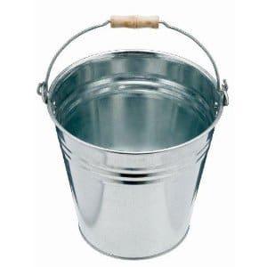 Seau en acier galvanisé 10 litres pour usage intérieur ou extérieur – Import Royaume Uni