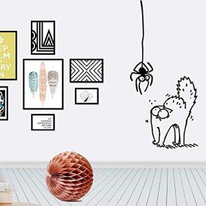 Hemore 7* 15centimètres Stickers muraux Chat Araignée et Un Loaded comme montré Cadeaux et décorations pour Le Remerciement