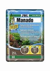 JBL Manado 25l – Substrat de sol naturel pour aquariums d'eau douce