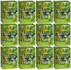 Laurier Cour® Set économique: 12x Compo Engrais longue durée pour bambou, 700g + Gratuit Cour Flyer Laurier