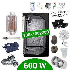 Pack Box 600W Cooltube 100×100 – Black Box 2 + Supacrop