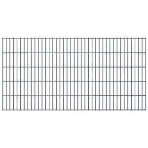 Stylizio Panneaux de clôture de Jardin 2D 2008×1030 mm 42 m Gris