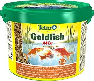 TETRA Pond Goldfish Mix – Aliment Complet pour Poisson Rouge de Bassin de Jardin – 10L