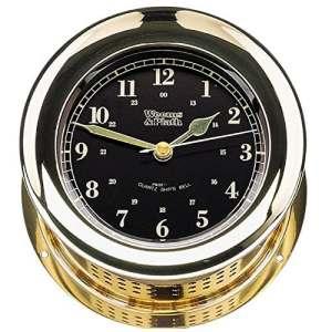 Weems & Plath Atlantis Collection Premiere Horloge Bell de Navire à Quartz