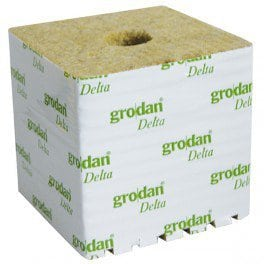 8 cubes de laine de roche 7.5 x 7.5 x 6,5cm – Grodan