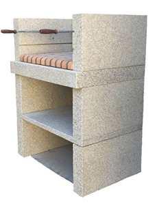 Barbecue granit sauvage de pièce
