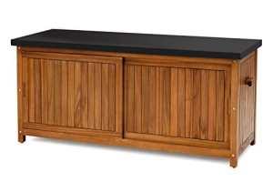 Belardo 256279 Coffre Acacia 157 x 61 x 73 cm