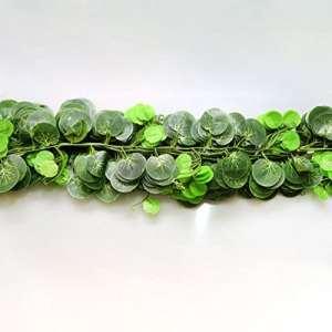 EMVANV – Guirlande de lierre artificiel 2,5m – Pour décorer une cuisine, un jardin, un bureau, un mariage, un mur, Voir image, begonia