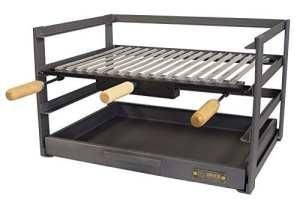 IMEX EL ZORRO 71479.0tiroir Barbecue avec grille, noir, 72x 41x 35cm