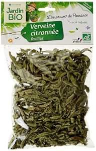 Jardin Bio Verveine citronée – feuille – Bio Sachet de 25 g – Lot de 5