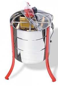 Lega 100 twend Extracteur de panier inférieur liegenden Moteur Essoreuse à salade en acier inoxydable avec 4poches pour nid d'abeilles