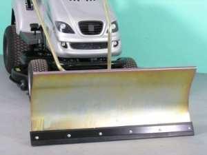 MTD Silvertrac Lame chasse-neige de Confort Zinguée 118×50 cm pour Tracteur-tondeuse ID 2192