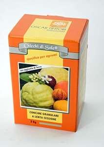 Oscar Tintori chicchi Di Sole 2kg Engrais pour agrumes