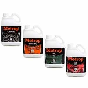 Pack engrais METROP 5 litres – Terre, Hydro, Coco