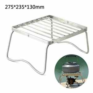 RainBabe Barbecue Portable Pliable Barbecue à Charbon de Table avec Barbecue Grille INOX Barbecue extérieur/Camping/piquenique