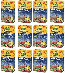 12x 1kg etisso escargots de lentilles Pro Pack escargot Mittel