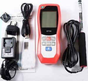 Anémomètre thermo infrarouge pour système de ventilation ST-733