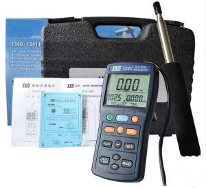 Anémomètre thermo numérique à fil chaud TES1340