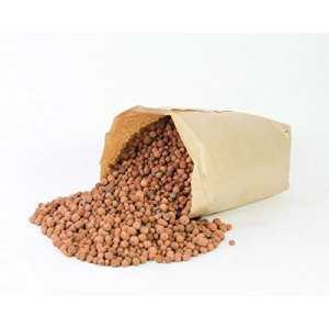 artplants Billes d'argile en Sac, Brun, 40 litres, 16 kg – Argile/substrat/granulat