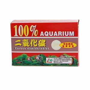 Biniwa Lot de 36 tablettes de dioxyde de Carbone pour Plantes d'aquarium