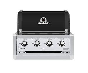 Broil King Barbecue à gaz Regal 420 Noir Encastrable