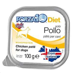 FORZA 10 alimentation 100g poulet Aliment humide monoprotein chien