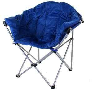 Generic CA Jardin Pêche R Chaise Pliante Camping G Pic Pique-Nique rembourré Shing Pique-Nique PA d'extérieur Pliante Portable Lune Assise Assise