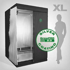 GrowPRO Growbox 2.0 XL Chambre de culture 120 x 120 x 200 cm