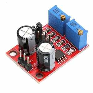 KNOSSOS E555 Pulse Frequency Duty Cycle Adjustable Module Square Wave Signal Generator – Red