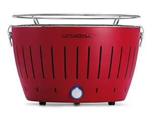 Lotus Grill G-RO-34 Barbecue Nomade Rouge Éclatant, 39 x 38 x 24 cm
