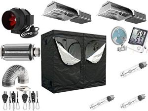 Nito GmbH AKF 935m3/h Pro Kit de Culture électronique VSG à intensité Variable 200 x 100 x 200 cm 2 x 315 W CMH