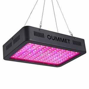 OUMMET Lampe de Plante 1000W, Lampe de Croissance équipée de 100 LEDs,Parfait pour Plantes,Fleurs,et Légumes Intérieur.