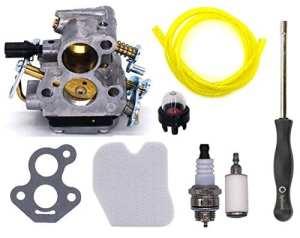 OxoxO Carburateur filtre à air filtre à carburant Primer ampoule bougie d'allumage Outil de réglage pour Husqvarna 235235e 236236e 240240E tronçonneuse Remplace 574719402545072601Carb