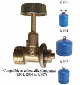 Robinet adaptateur 512 pour désherbeur thermique