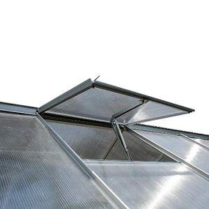 spetan Ouvre-fenêtre Automatique pour Serre et abri de Jardin Ouverture et Fermeture par contrôle de la température Automatique